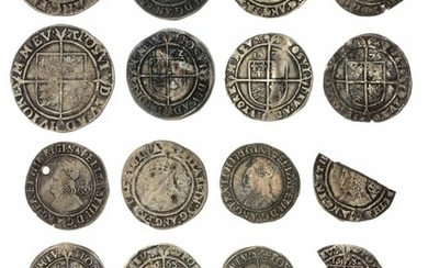 Elizabeth I (1558-1603), Mixed Silver Hammered Coins, Tower (10)