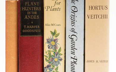 Gardens.- Plant-Hunting.- Cox (E.H.M.) Plant-Hunting in China, first edition, 1945 & others (5)