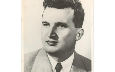 Nicolae Ceausescu Signed Photograph