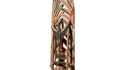 Side Element from a Sculpture for Malagan Ceremony, New Ireland