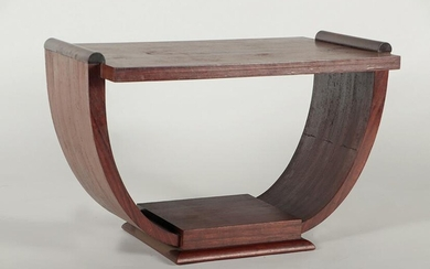 A FRENCH ART DECO OCCASIONAL TABLE CIRCA 1930