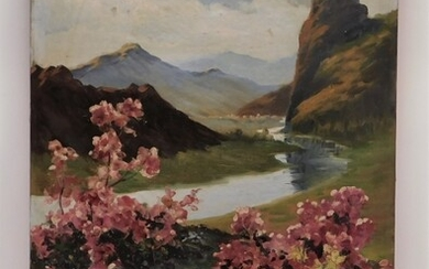 Chinese Impressionist Landscape Painting
