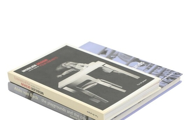 NOT SOLD. European design: Two books about children's furniture and architecture. (2) – Bruun Rasmussen Auctioneers of Fine Art