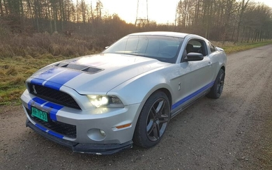 Ford USA - Mustang Shelby GT500 - 2010