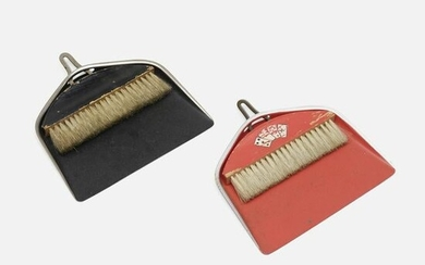 Marianne Brandt, Table brushes and dustpans, set of two