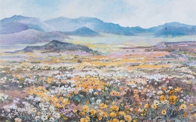 Patricia Vaughan (South Africa 1922 - ): COSMOS FIELD