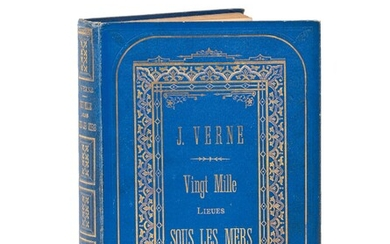 Twenty Thousand Leagues Under the Sea by Jules Verne. Illustrations...