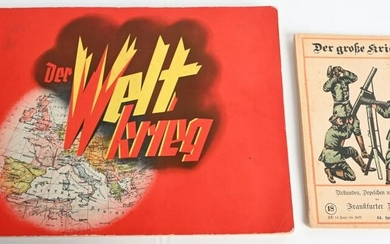 WW1 IMPERIAL GERMAN STAMP BOOK & THE GREAT WAR