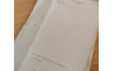 Militaria WWII Notes on Floating 'Bailey' Bridge Equipment D...