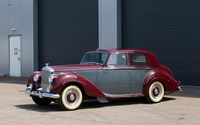 1952 Bentley R-Type 4½-Litre Saloon, Chassis no. B.218.LSR Engine no. B.109.S