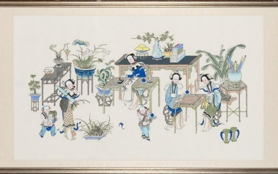 A Chinese School Painting