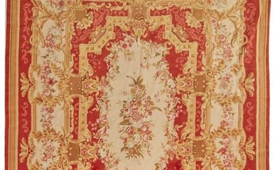 A French floral tapestry