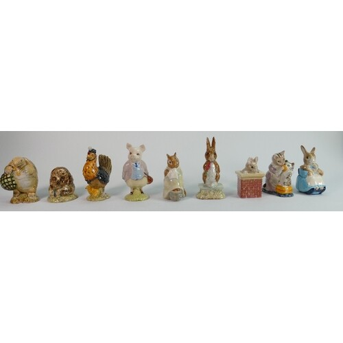 A collection of Beswick Beatrix potter figures : all BP3B ba...