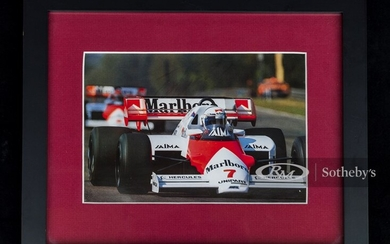 Alain Prost Signed Photograph