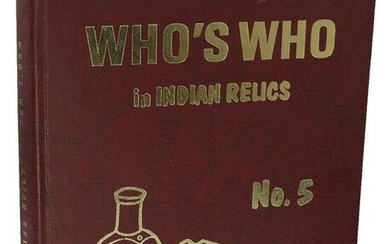 Book: Who's Who in Indian Relics #5 (Thompson, 1980).