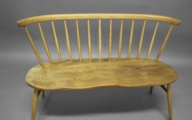 ERCOL TWO SEATER 'LOVE SEAT' Model no 450 and designed by Lu...