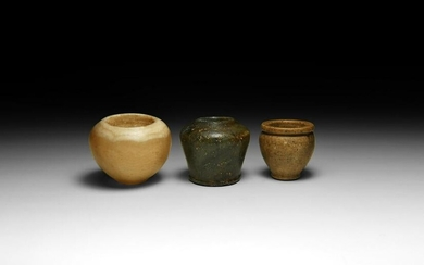 Egyptian Miniature Vessel Collection