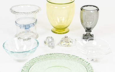 Group of Decorative Glass Items