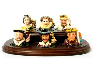 Kings and Queens of the Realm Set with Stand - Tiny
