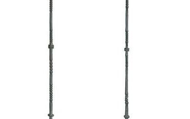 Pair of Baroque-Style Iron Torcheres