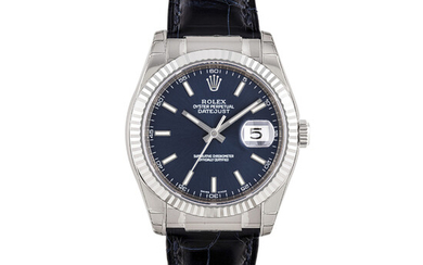 ROLEX, WHITE GOLD DATEJUST, REF. 116139