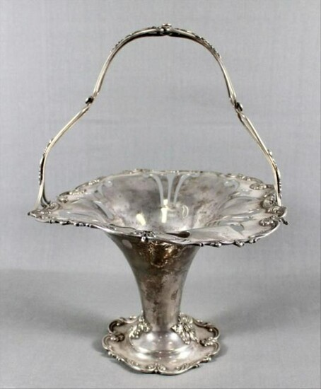 Silver Plated Basket