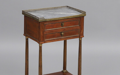 WOMEN'S WORK TABLE, France, around the year 1800.