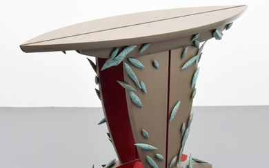 """Wendy Maruyama """"A Lesson In Excess From Louie XIV"""" Console Table"""