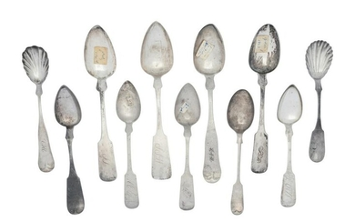 A Collection of Silver Spoons