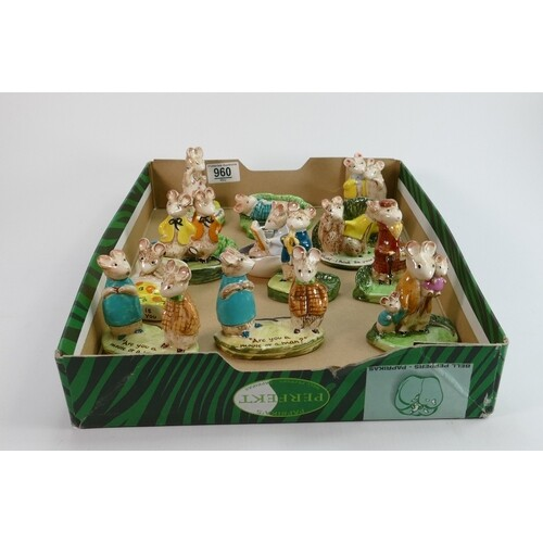 A collection of Beswick kitty Macbride figures: comprising T...