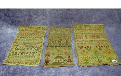 An Early XIX Century Woolwork Sampler, by Betsey Colquhoun, ...