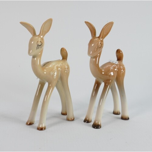 Beswick pair of comical models of fawnie 1003. (2)