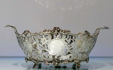 Early 20th Century Antique Edwardian Sterling Silver