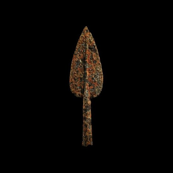Iron Age Celtic Socketted Spearhead