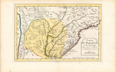 MAP, Central South America, Bellin