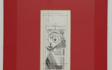 Marcel Duchamp ed200 Study of Chocolate Grinder Etching