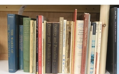 ° Reference books on Chinese ceramics, Ming to Qing dynasty...