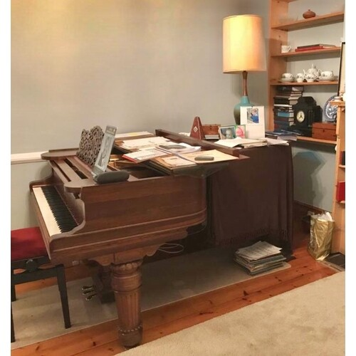 Steinway (c1900) A 6ft 11in Model B grand piano in a rosewoo...