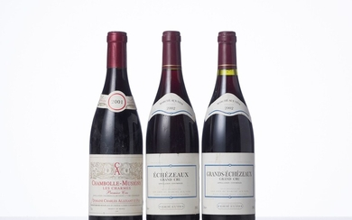 1 Bouteille CHAMBOLLE-MUSIGNY LES CHARMES (1° Cru) Année : 2001 Appellation : Domaine Charles Allexant...