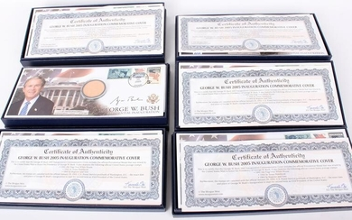 2005 GEORGE BUSH INAUGURATION COVER MEDALS - 6