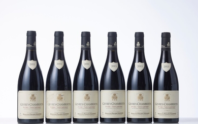 3 Bouteilles GEVREY-CHAMBERTIN LES CAZETIERS (1° Cru) Année : 2011 Appellation : Domaine Philippe Naddef...