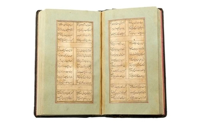 A GHAZALIAT OF HAFEZ, SONNETS 8 TO 462, AND OTHER POEMS Iran, the manuscript 18th century, the re-binding 19th century