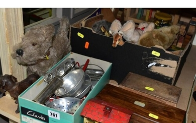 A QUANTITY OF ASSORTED TOYS, GAMES AND MISC ITEMS, to includ...