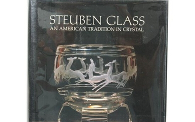 Book - Steuben Glass By Madigan