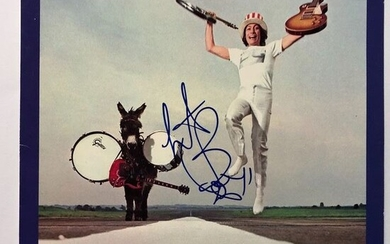 Charlie Watts - The Rolling Stones - Rare Hand Signed - Album - Get Yer Ya-Ya's Out! - LP Album - 1970/1970