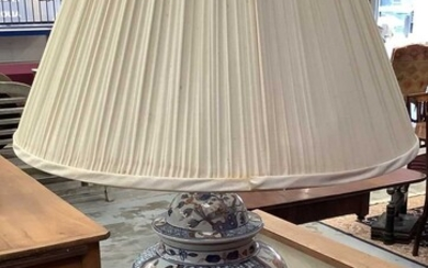 Chinese table lamp and shade