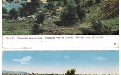 Collection of 22 Postcards of Jericho, Palestine