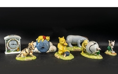 Collection of Royal Doulton Winnie The Pooh Porcelain Figure...