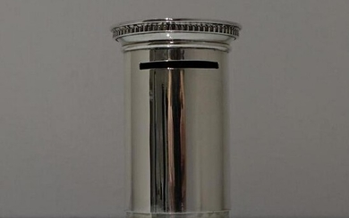 Early 20th Century George V Sterling Silver Money Box