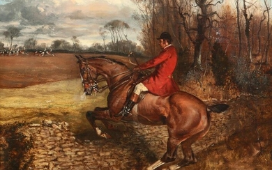 English School, Over the fence, the fox hunt